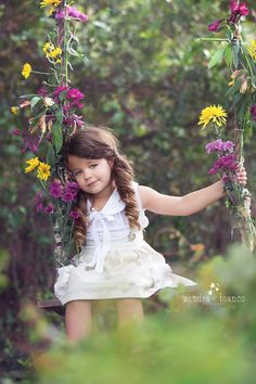 Get ideas for a spring photo shoot with the little ones.