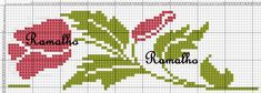 This Pin was discovered by Rey Cross Stitch Bookmarks, Mini Cross Stitch, Cross Stitch Rose, Cross Stitch Borders, Cross Stitch Flowers, Cross Stitch Charts, Cross Stitch Designs, Cross Stitching, Cross Stitch Embroidery