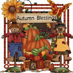harvest blessings autumn clip art and images pinterest Sylvari Art Devil Art