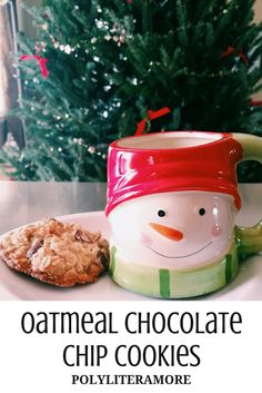 Polyliteramore: Oatmeal Chocolate Chip Cookies