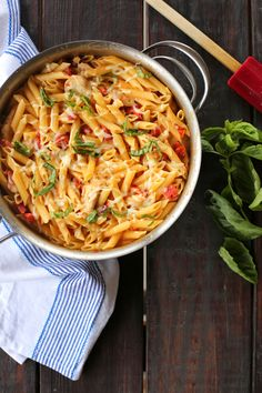Creamy Chicken and Fire-Roasted Tomato Pasta - super yummy and quick to make. I made the pasta separately and added to chicken with the tomatoes. Very flavourful. Will definitely be making again.