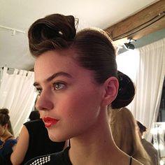 Summer Hair Trends: Pretty Pompadour