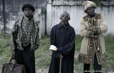 But Petterson encountered plenty of monochrome outfits in Kinshasa, capital of DR Congo. Sapeurs in Kinshasa 2012