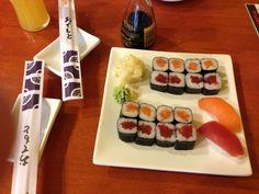 Sushi Bar Slunce Sushi, Beverages, Bar, Ethnic Recipes, Food, Essen, Meals, Yemek, Eten