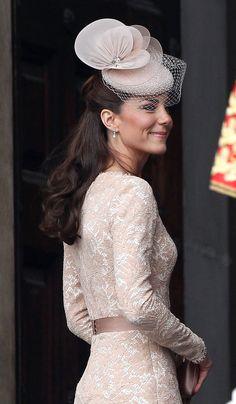 Kate Middleton at Diamond Jubilee Mass