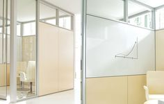 Teknion Altos. Whiteboard and tackboard fascias are also available.