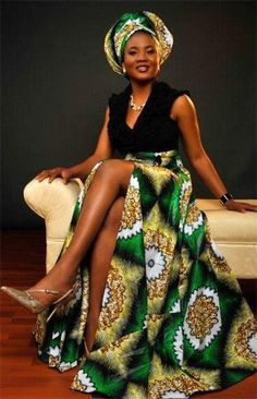 Love the african look