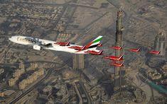 Flies Nonstop next year to Panama City: A Boeing 777 of Emirates - here via Dubai. London City Airport, London Airports, Emirates Airline, Passenger Aircraft, May Bay, Boeing 777, Royal Air Force, Air Show, Panama City Panama