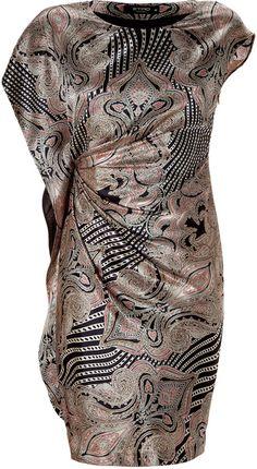 Etro dress with oriental design