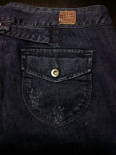 Gifts for Her | Collection created by designerclothingfans.com LUCKY BRAND Women's 8/29 Flare Low-Rise Kensington Jeans Flap Pockets