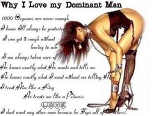 That's exactly what i like in man but i never had....