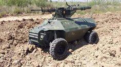 Irak yapımı askeri kumandalı araç