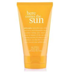 here comes the sun: age-defense golden glow self-tanner for body