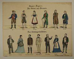 Theater-Figuren. Der Vetter aus Bremen. Das Sonntagsräuschchen. No. 6294.