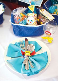 Go Baby, Go! Operation Shower Event {Tablescapes Part 1}