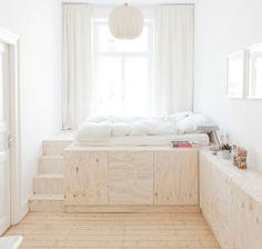 DIY Podest Bed