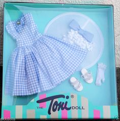 Effanbee 13 in. Tea Time Fashion Toni Doll Outfit Only, Tonner 2007 #EffanbeeDollCoTonnerDesign is offered for sale in a 10 day Ebay auction.