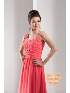10% Discount cmdress from 27/11/2014 to 30/04/2015  Hurry up! code: cmdress  #Bridesmaiddress #dresses  New Style A-line Sleeveless Chiffon Silk and Satin Bridesmaid Dress