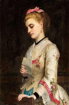 - Doubting - Charles Sillem Lidderdale 1831- 1895
