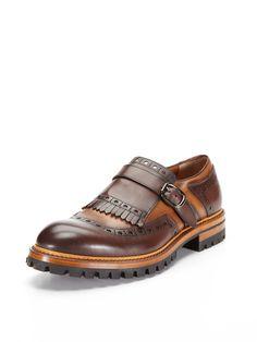 Kilt Monkstrap Shoes by Antonio Maurizi