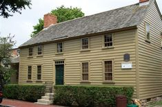The New Jersey Farm House (ca. 1800) was moved from Somerville, NJ to 72 Spring Street, where it was reconstructed and restored from 1976 to 1977.