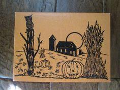 Vintage Halloween Candy Box JOL, Owl