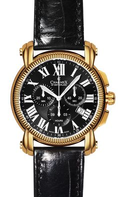 The ASPEN by Charmex of Switzerland™; luxury Swiss Made wrist watches on the official Charmex of Switzerland™ website Stainless Steel Bracelet, Stainless Steel Case, Chronograph, Omega Watch, Sapphire, Quartz, Jewels, Watches, Crystals