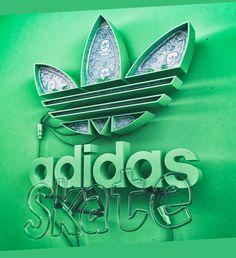 Adidas Skate Neon on Behance