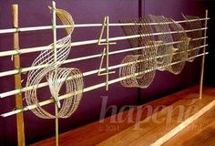 Hapene art Clothes Hanger, Bobby Pins, Hair Accessories, Notes, Ear, Cool Stuff, Music, Beauty, Cool Things