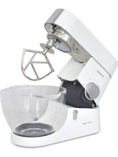 Kenwood Chef Titanium Kenwood Chef Stand Mixer White - KMC015 madbid