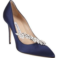 Manolo Blahnik Nadira Jeweled Pumps