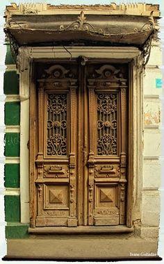 Door On Sankt- Peterburg Street. Tbilisi - By Ivane Goliadze