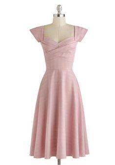Pine All Mine Dress in Pink Plaid, #ModCloth