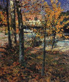 Outono - Jose Malhoa - WikiArt.org