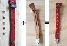 MHL Upcycle: Make Accessories from an Old Belt,Part2