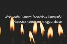 Zulu, Candle Sconces, Love Quotes, Wall Lights, Simple Love Quotes, Appliques, Zulu Language, Quotes Love, Wall Lighting