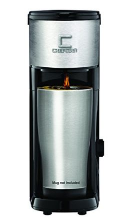 Chefman Coffee Maker K-Cup VersaBrew Brewer - FREE FILTER INCLUDED For Use With Coffee Grounds - Rapid Boil - Small Footprint Single Serve - RJ14-SKG