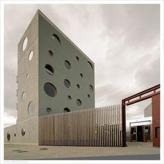 O'Donnell-Tuomey Architects: Sean O'Casey Community Centre, Dublin