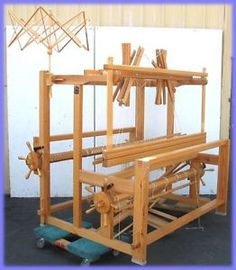 Glimakra STANDARD Counter March Countermarch Loom w/ Bench & Weaving EXTRAS