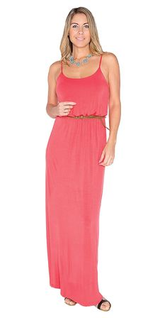 This Maxi though!! Silver Icing Girls Night Out Maxi Dress.  Available in blue or coral #SilverIcing https://www.silvericing.com/jennadudding