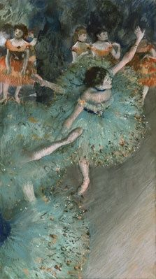 Dancer in Green by Degas http://bit.ly/HelCx2