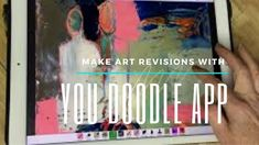 Make Art Revisions With The You Doodle App Make Art, How To Make, You Doodle, Video Tutorials, Projects To Try, Ipad, Doodles, Youtube, Youtubers