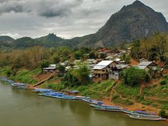 Laos Travel Package Tours: LUANG PRABANG CYCLING TRIP WITH TREKKING AND HOMES...