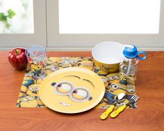 Minion Dining Set from Zak Designs