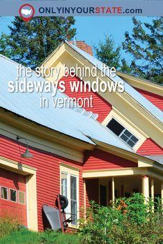 Travel | Vermont | Unique Finds | Local | Architecture | Buildings | History