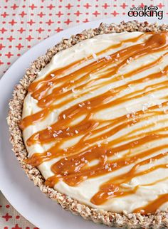 White Chocolate-Salted Caramel Tart #recipe