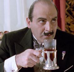 Poirot and his tisane