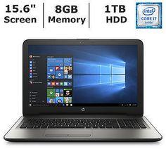 HP 15 Laptop Intel Core I7 8GB Memory 1TB Hard Drive
