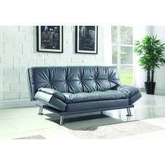Modern functionality paired with classic-proven design: Sofa beds in retro style Retro style Sofa beds leather, retro style adjustable sofa bed, gray LOPZUHO Black Leather Sofa Bed, Grey Sofa Bed, Futon Sofa Bed, Brown Sofa, Upholstered Sofa, Sleeper Sofas, Sectional Sofas, Leather Sectional, Coaster Furniture