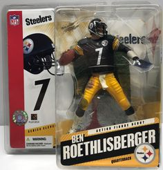 We always have the hottest Vintage Toys at The Angry Spider.  Now available: TAS038024 - 2005 ...  Check it out here: http://theangryspider.com/products/tas038024-2005-mcfarlane-toys-nfl-pittsburgh-steelers-ben-roethlisberger?utm_campaign=social_autopilot&utm_source=pin&utm_medium=pin